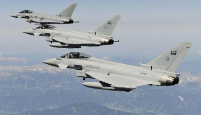 مقاتلات التحالف العربي تقصف تعزيزات الحوثيين بمأرب