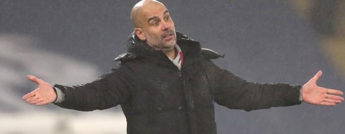 جوارديولا يعترف بصعوبة فوز مانشستر سيتي على برايتون بالدوري الإنجليزي