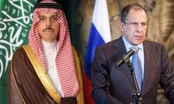 مؤتمر صحفي لوزيري الخارجية السعودي ونظيره الروسي بموسكو