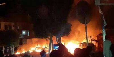 المحروقات في مناطق الحوثي.. أسواقٌ سوداء تلتهمها النيران