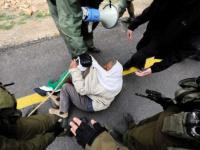 الاحتلال الإسرائيلي يقمع مسيرة بفلسطين ويعتقل مسنًا
