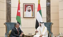 العاهل الأردني يتوجه إلى الإمارات ويلتقي بالشيخ محمد بن زايد