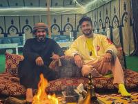 سعد لمجرد يشكر الشيخ محمد بن سلطان بعد استقباله في الإمارات