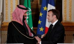 ولي العهد السعودي يبحث مع ماكرون المستجدات الدولية والإقليمية