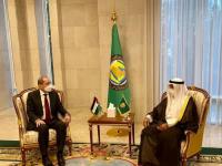 الأمين العام للتعاون الخليجي يبحث مع وزير الخارجية الأردني مسيرة التعاون المشتركة