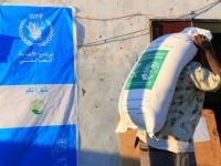 6179 أسرة تتلقى مساعدات غذائية في المهرة
