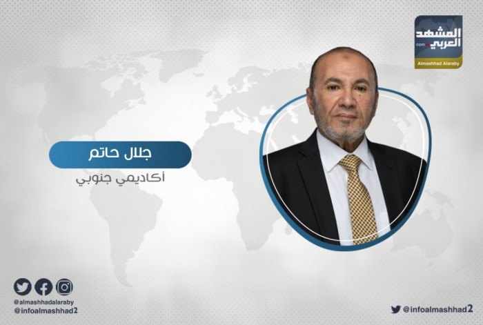 حاتم يُهاجم حزب الإصلاح بسبب أطماعه بالعاصمة عدن
