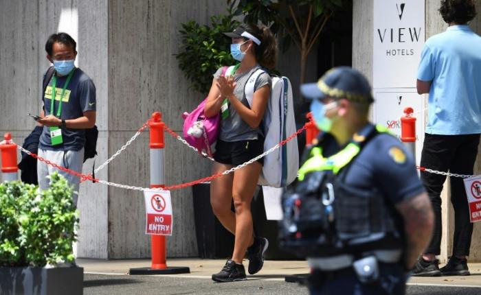 إصابتان جديدتان بفيروس كورونا في بطولة أستراليا المفتوحة