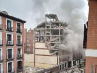 إصابة 6 أشخاص في انفجار قوي وسط العاصمة الإسبانية