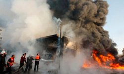 قتلى وجرحى في تفجير استهدف ساحة الطيران وسط بغداد