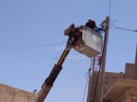 خليفة الإنسانية تؤمن الكهرباء لـ أحياء حديبو