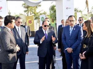 الرئيس المصري يفتتح أكبر مشروع سمكي بالشرق الأوسط