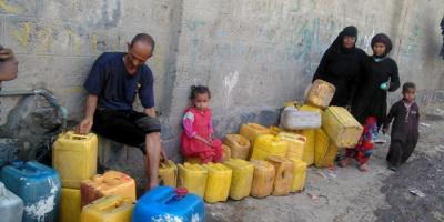 نقص المياه في اليمن.. أوضاع قاتمة تتصدى لها إغاثات السعودية