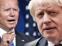 البيت الأبيض: بايدن وجونسون بحثا تعزيز علاقات البلدين