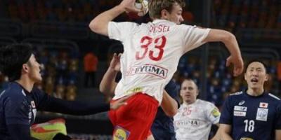 كرة اليد.. الدنمارك يتأهل لربع النهائي على حساب اليابان