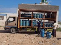 """""""خليفة الإنسانية"""" تسد احتياجات سكان حديبو من الغاز المنزلي"""