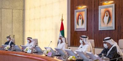 محمد بن راشد يترأس الاجتماع الأول لمجلس الوزراء في 2021 بأبوظبي