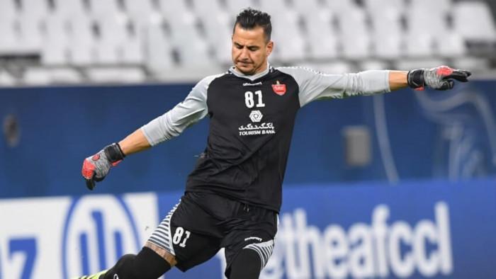 حارس بيرسيبوليس الإيراني يفوز بجائزة أفضل لاعب في دوري أبطال آسيا