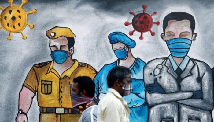 الهند تسجل 9102 إصابة جديدة بكورونا و117 وفاة