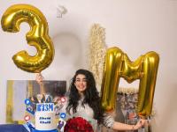 """جيهان خليل تحتفل بوصول متابعيها على """"فيس بوك"""" لـ 3 ملايين (صور)"""