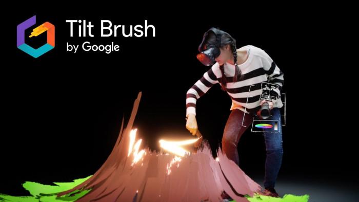جوجل توقف تطويرها الداخلي لتطبيق Tilt Brush 