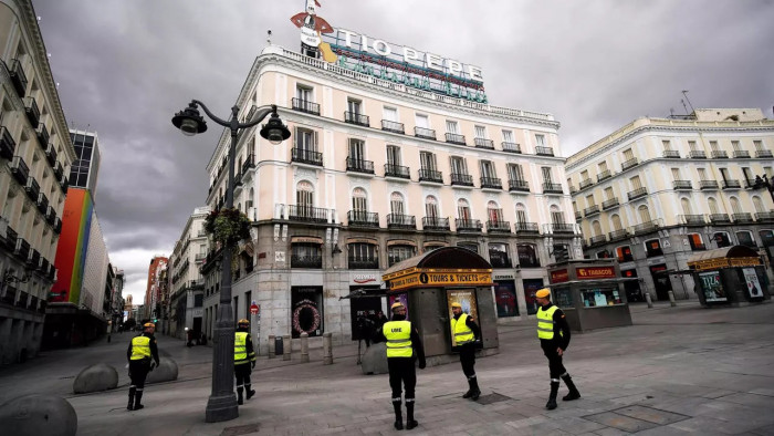 إسبانيا تُسجل 492 وفاة و40285 إصابة جديدة بكورونا