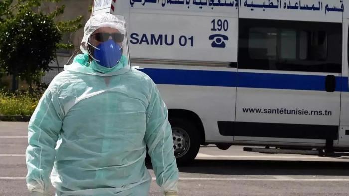 تونس تُسجل 76 وفاة و1661 إصابة جديدة بكورونا