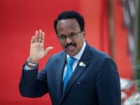 الرئيس الصومالي يلتقي وزير الدفاع البريطاني