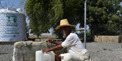 """الإصحاح البيئي لـ """"سلمان للإغاثة"""" يلبي احتياجات حجة المائية"""