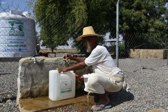 """الإصحاح البيئي لـ""""سلمان للإغاثة"""" يلبي احتياجات حجة المائية"""