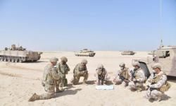 """انطلاق تمرين """"الاتحاد الحديدي 14"""" بين القوات البرية الإماراتية والجيش الأمريكي"""
