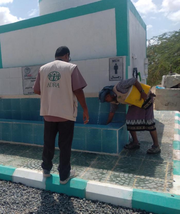 مشروع لترميم مياه قرية الرويس في أحور