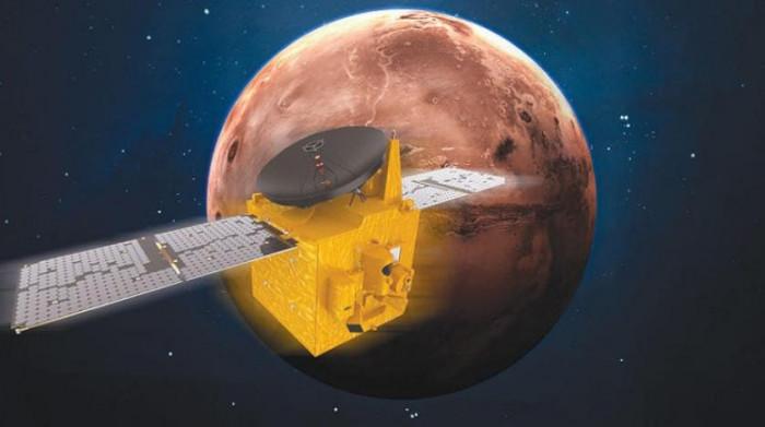 نجاح مهمة مسبار الأمل في الوصول إلى كوكب المريخ