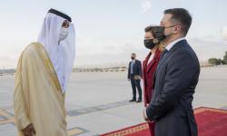 الرئيس الأوكراني يصل إلى الإمارات في زيارة عمل