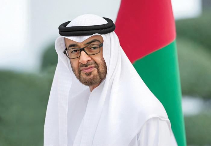 بن زايد يستقبل الرئيس الشيشاني في أبوظبي