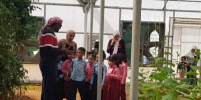 """""""خليفة الإنسانية"""" تطلق مبادرة لتشجير مدارس سقطرى"""
