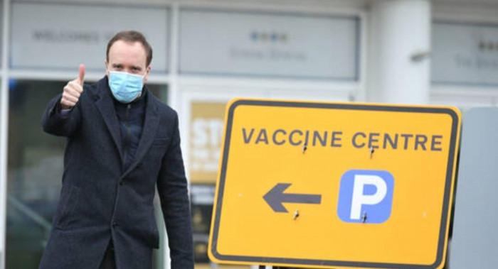 وزير الصحة البريطاني: انخفاض إصابات كورونا في المستشفيات