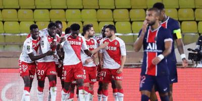 بعد واقعة برشلونة.. باريس سان جيرمان يخسر أمام موناكو