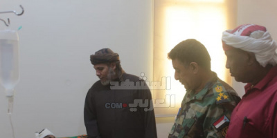 الثقلي يطمئن على مصابي حادث دكسم المروري بمستشفى خليفة