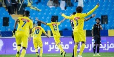 التعاون يفوز على الوحدة في الدوري السعودي