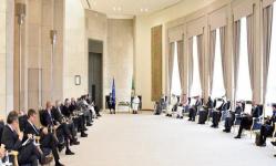 الأمين العام لمجلس التعاون الخليجي يلتقي بسفراء الاتحاد الأوروبي