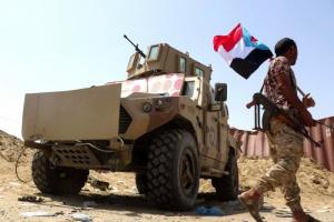 القوات الجنوبية تشتبك مع الحوثيين على حدود يافع