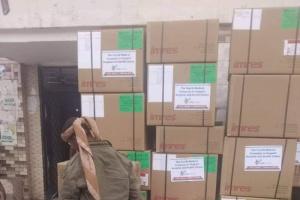 مساعدات طبية وأدوية لمستشفى ردفان