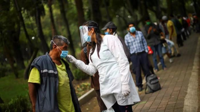 المكسيك تُسجل 1006 وفيات و8642 إصابة جديدة بكورونا