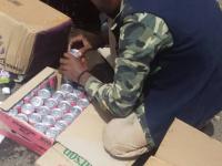 إتلاف شحنة مواد كيماوية في ميناء عدن