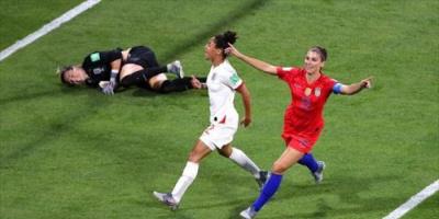 مورجان تسجل أول أهدافها مع المنتخب الأمريكي بعد أن أصبحت أما