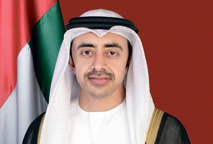 وزير الخارجية الإماراتي يستقبل نظيره الكويتي في أبوظبي