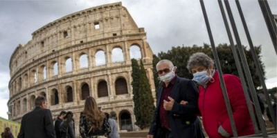 إيطاليا: ارتفاع كبير ومقلق لأعداد الإصابة بكورونا خلال الفترة الماضية