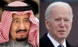 بايدن للملك سلمان: نثمن الدعم السعودي للتهدئة باليمن