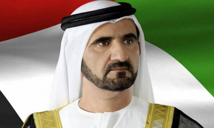 حاكم دبي يهنئ العاهل السعودي بنجاح عملية ولي عهده